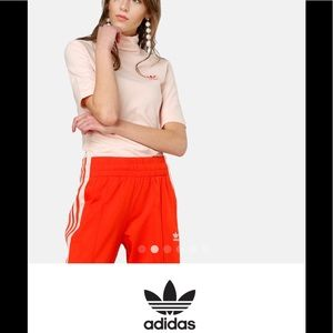 adidas originals Love set turtle neck Pink S